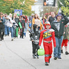 GHOSTS AND GOBLINS IN THE STREETS OF THORNTOWN<br /> Elizabeth Pearl | The Lebanon Reporter<br /> HALLOWEEN PARADE: Costumed Thorntown residents paraded down Market Street on Monday with the annual Halloween parade before picking up their candy bags.