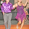 FUNDRAISING FIENDS: Heather Myers and Brian Montgomery, who danced multiple styles to a mash-up of songs, won the honor of raising the most money for Mental Health America of Boone County.