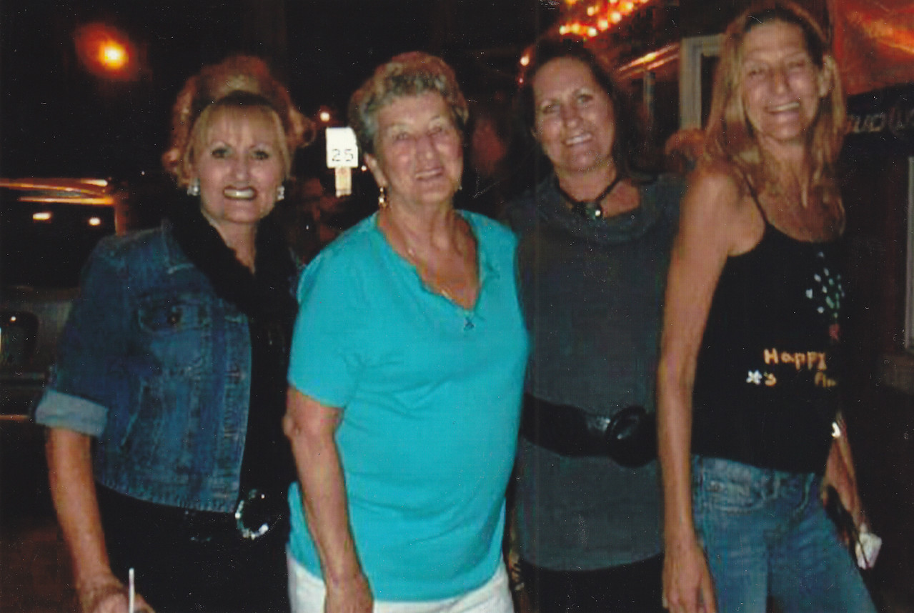 PHOTO PROVIDED From left, Karen Gerk, her mother, Emily Pearce, and two sisters, Trish Jones and Terilyn Putra, pose for a photo in 2011 during a family trip to their hometown in West Virginia. The Brunswick family is celebrating recovery this Christmas after eight members of their family, the three sisters included, battled alcohol and drug addiction for years.