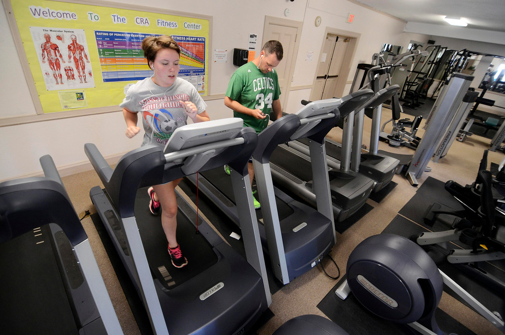 . THe Dalton CRA has facilities for all ages, including an elaborate fitness facility, Friday Aug 23, 2013. Ben Garver / Berkshire Eagle Staff