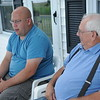 HALEY WARD | THE GOSHEN NEWS<br /> James and Ray Eash talk about being named Farm Family of the Year by the Ag Society Thursday at their Middlebury farm.