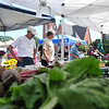 There were plenty of vegetables from Taft Farm for the crowd at the Fenn Street Farmers Market this Saturday August 10, 2013 in Pittsfield. Photos by Sarah Howard/ Special to The Eagle