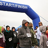 LEANDRA BEABOUT | THE GOSHEN NEWS<br /> Walkers braved the cold Thursday morning to participate in the Turkey Stampede one-mile loop.