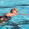 JAY YOUNG | THE GOSHEN NEWS<br /> Eight-year-old Joshua Martin, of Goshen, practices floating on his back during the first day of Goshen Parks and Recreation department swimming classes at Shanklin Pool Monday morning. The classes run for two weeks, Monday through Friday, beginning at 9:30 a.m. Those interested should contact the parks and recreation department.