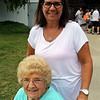 JOHN KLINE | THE GOSHEN NEWS <br /> Wilma Majors and Linda Snider