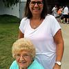 JOHN KLINE | THE GOSHEN NEWS <br /> Wilma Majors and Linda Snider