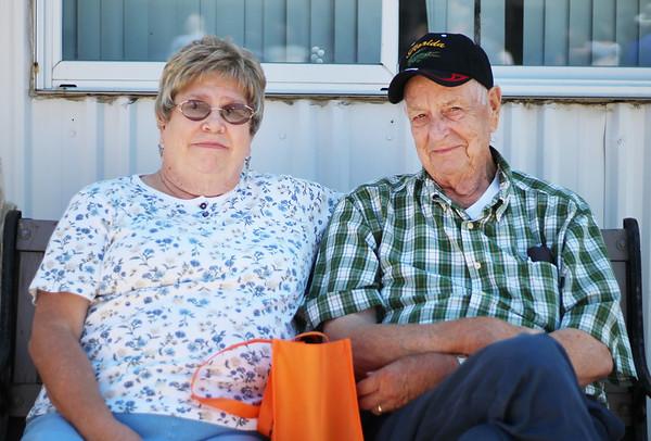 LEANDRA BEABOUT | THE GOSHEN NEWS<br /> Walt and Diane Borders of Mishawaka