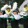 Stacey Diamond | The Goshen News<br /> Concord's mellophones and brass look sharp during their Semi-State performance in Class A at Ben Davis High School Saturday.