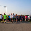 LEANDRA BEABOUT | THE GOSHEN NEWS<br /> Ready, set, go! The Maple City Walk 10k begins.