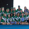 JAY YOUNG | THE GOSHEN NEWS<br /> The Concord High cheer squad poses with its first place trophy after winning the 44th annual cheerleading contest that is part of the Elkhart County 4-H Fair Friday afternoon. Three cheer squads took part in the competitive portion of the event, with Concord taking first place, Wawasee High taking second place and Oregon-Davis High placing third. John Adams High was also on hand as the only squad competing in the spirit squad portion of the event. Other activities included a jump off and demonstrations by Indiana Ultimate.
