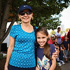 LEANDRA BEABOUT | THE GOSHEN NEWS<br /> Cora Sweeney and her grandddaughter Alannah Sweeney, both of Portage, IN, enjoy having a family day at the Nappanee Apple Festival every year.