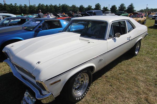 ADAM RANDALL | THE GOSHEN NEWS<br /> A 1972 Chevrolet Nova.
