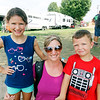JOHN KLINE | THE GOSHEN NEWS <br /> Mazy Steele, 7, Dusti Steele and Dylan Rice, 4