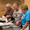 LEANDRA BEABOUT | THE GOSHEN NEWS<br /> Members of First United Methodist Church in Goshen prepared and served Thanksgiving dinner to the community.