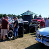 ADAM RANDALL | THE GOSHEN NEWS<br /> Visitors strolled around the Classic Car Cruise-In Saturday near the grandstand at the Elkhart County fairgrounds.
