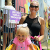 ELIJAH DURNELL | THE GOSHEN NEWS<br /> Krista Shoemaker and Lily Shoemaker, 2, of Syracuse