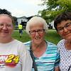 JOHN KLINE | THE GOSHEN NEWS <br /> Karen Hossler, Charlotte Mast and Janet Wileman
