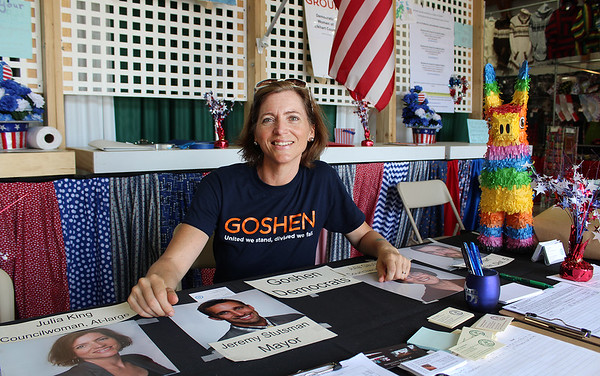 JULIE CROTHERS BEER | THE GOSHEN NEWS<br /> Julia King of Goshen