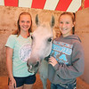LEANDRA BEABOUT | THE GOSHEN NEWS<br /> Kylie Thornton, 15, and Julie Ely, 13, of Nappanee