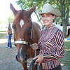 LEANDRA BEABOUT | THE GOSHEN NEWS<br /> Jesi Roan of Middlebury with her horse, Josie.