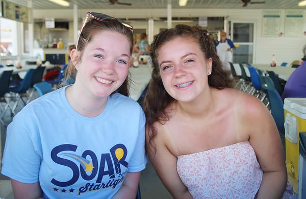 LEANDRA BEABOUT | THE GOSHEN NEWS<br /> McKenna Thompson and Chloe Taylor, both of Goshen