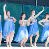 CHRISTINA CLARK | THE GOSHEN NEWS Andrea Garcia and Friends performed their winning routine from the Talent Competition on Wednesday for National Dance Day. Ana Dekker, 15, Goshen, Chrissy Hickman, 16, Middlebury, Andrea Garcia-Estrada, 15, Goshen, Maycie Gibson, 16, Goshen, and Emily Dell, 17, Middlebury.