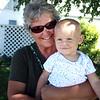 LEANDRA BEABOUT | THE GOSHEN NEWS<br /> Deb Parker of Elkhart holds her granddaughter Olivia Walls, 1, of Fort Wayne.