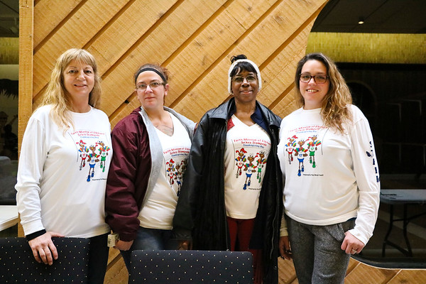 LEANDRA BEABOUT | THE GOSHEN NEWS<br /> Kelley Nease, Jennifer Mullen, Patricia Ridley and Nicole Heiliger, all of Elkhart
