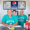 LEANDRA BEABOUT | THE GOSHEN NEWS<br /> Christy Cordell, Beth Kreuter and Leslie Buck, all of Goshen