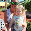 LEANDRA BEABOUT | THE GOSHEN NEWS<br /> Haley Keagle and Daisy Keagle, 1, both of Elkhart