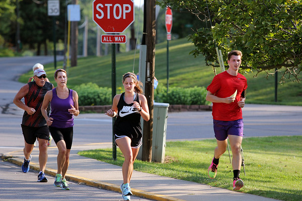 ADAM RANDALL | THE GOSHEN NEWS<br /> Syracuse's Flotilla Road Race is held annually on the Fourth of July.