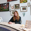 LEANDRA BEABOUT | THE GOSHEN NEWS<br /> Interior designer Nanci Wirt sits inside her business, n. wirt design & gallery.