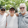 """We're brothers,"" say Vietnam veterans, pictured here. From left are Jerry Sorn of Vandalia, MI, who served in the U.S. Marines in Vietnam from '66-'67; James Luce of Elkhart, who served in the U.S. Army in Vietnam from '70-'71; and Ron Maure of Elkhart, who served in the U.S. Army in Vietnam from '69-'71."