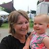 JOHN KLINE | THE GOSHEN NEWS <br /> Susan Wertman and Alayna Fritshle, 8 months