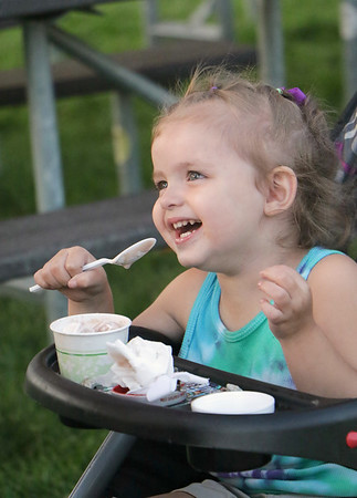 STACEY DIAMOND | THE GOSHEN NEWS<br /> LilyHasting, 2, of Elkhart