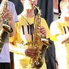 Brian Sapp   The Goshen News<br /> Ben Good Elliot, 17, Goshen plays a solo with the Elkhart Jazz Festival All Stars.