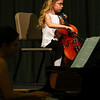 """Rose Gotlieb performs """"Rigadoon"""" at a benefit concert for Williamstown Elementary School's fifth grade band.  Her mother, Lauren, accompanies her on piano.  Williamstown, 5/16/10 - Ian Grey"""