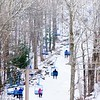 BEN GARVER — THE BERKSHIRE EAGLE<br /> About 230 skiers and snowboarders enjoyed the slopes at Otis Ridge Thursday, January 2, 2020. Otis ridge is a small mountain with 4 lifts and 11 trails.