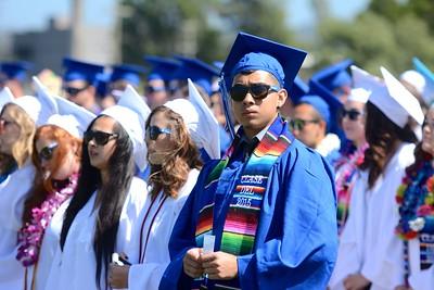 PHOTOS: Fortuna High School Graduation 2015