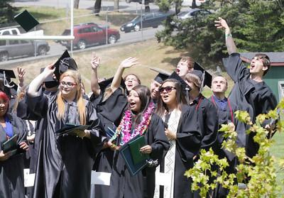 PHOTOS: Zoe Barnum High graduation