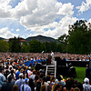 "President Barack Obama speaks on Norlin Quad at the University of Colorado in Boulder on Sunday, Sept. 2, 2012.  For more photos and videos visit  <a href=""http://www.DailyCamera.com"">http://www.DailyCamera.com</a>.<br /> (Greg Lindstrom/Times-Call)"