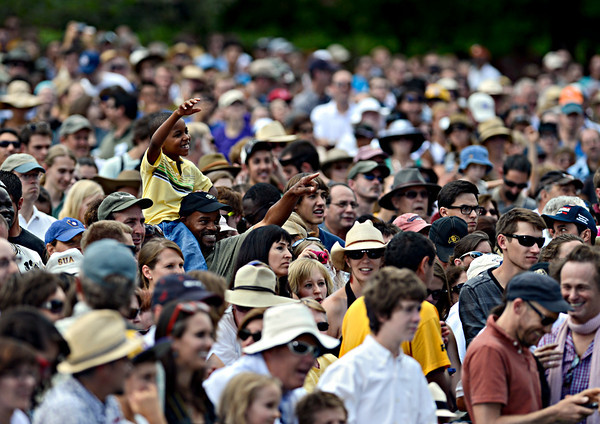 "A young fan cheers as President Barack Obama speaks on Norlin Quad at the University of Colorado in Boulder on Sunday, Sept. 2, 2012.  For more photos and videos visit  <a href=""http://www.DailyCamera.com"">http://www.DailyCamera.com</a>.<br /> (Greg Lindstrom/Times-Call)"