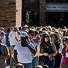 "People wait in line to hear President Barack Obama speak on Norlin Quad at the University of Colorado in Boulder on Sunday, Sept. 2, 2012.  For more photos and videos visit  <a href=""http://www.DailyCamera.com"">http://www.DailyCamera.com</a>.<br /> (Greg Lindstrom/Times-Call)"