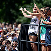 "Fans celebrate after being ushered to the riser behind where President Barack Obama speaks on Norlin Quad at the University of Colorado in Boulder on Sunday, Sept. 2, 2012.  For more photos and videos visit  <a href=""http://www.DailyCamera.com"">http://www.DailyCamera.com</a>.<br /> (Greg Lindstrom/Times-Call)"