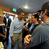 "President Barack Obama greets patrons at The Buff Restaurant before a rally on Norlin Quad at the University of Colorado in Boulder on Sunday, Sept. 2, 2012.  For more photos and videos visit  <a href=""http://www.DailyCamera.com"">http://www.DailyCamera.com</a>.<br /> (Cliff Grassmick/Daily Camera)"
