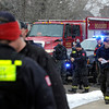 "Car Explosion001.JPG Boulder County Police and Fire Departments respond to an explosion in a car near 337 Lodgewood Point in Lafayette on Saturday, Jan 7. Two people were injured and taken to the hospital in the blast. For a video of the crime scene go to  <a href=""http://www.dailycamera.com"">http://www.dailycamera.com</a><br /> Jeremy Papasso/ Camera"