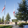 The Pearl Harbor remembrance ceremony Thursday, Dec. 7, 2017, at the Gridley Cemetery in Gridley, California. (Dan Reidel -- Enterprise-Record)