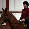 Anna Seaguir, of Great Barrinton rides with Timon,  on Thursday afternoon at The Berkshire Equestrian Center in Richmond. (January 9th 2014 Holly Pelczynski/Berkshire Eagle Staff)