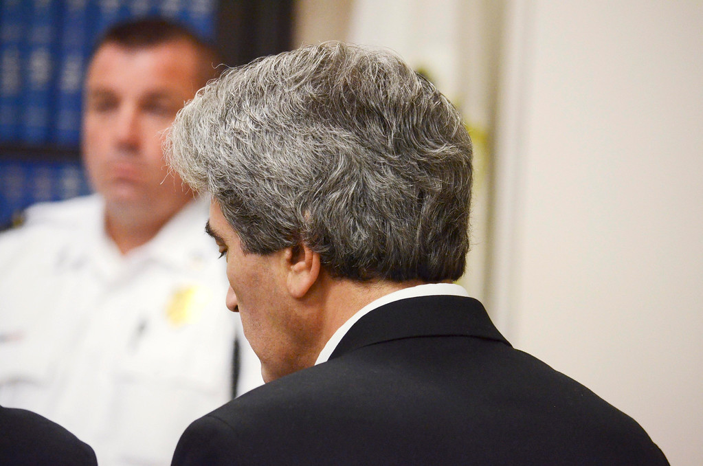 . Paul Capitanio is arraigned Berkshire Centeral District Court on drug related charges, Tuesday August 20, 2013.  Ben Garver / Berkshire Eagle Staff