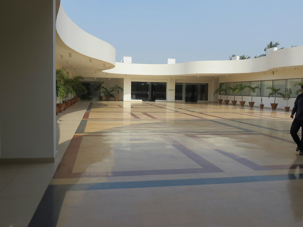 . The courtyard of the Karachi School for Business & Leadership in Pakistan. KSBL offers MBA programs for students and working professionals. Jenn Smith/Special to The Eagle